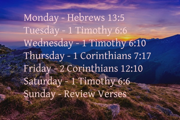 contentment-week-2