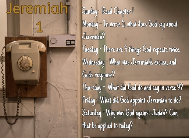 Jeremiah 1
